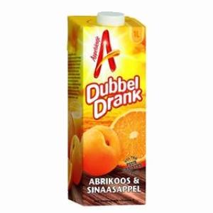 Appelsientje Sap Dubbeldrank Abrikozen-Sinaasappel 1000ml