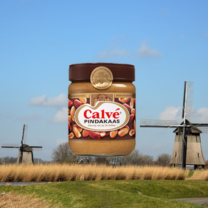 Banner - Pindakaas - Food From Holland