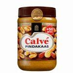 Calve Pindakaas 600 gram plus 50 gram extra