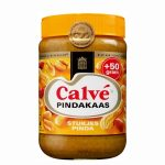 Calve Pindakaas met stukjes noot 600 gram plus 50 gram extra