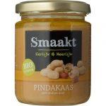 Biologische Pindakaas crunchy - Smaakt 250 gr